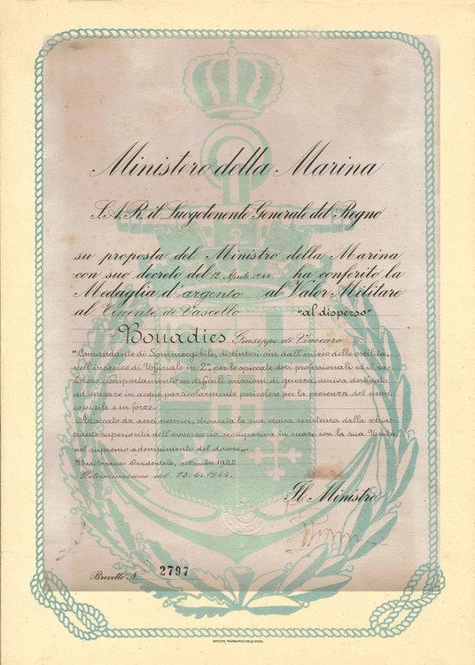 Bonadies Diploma Medaglia Argento V.m..jpg