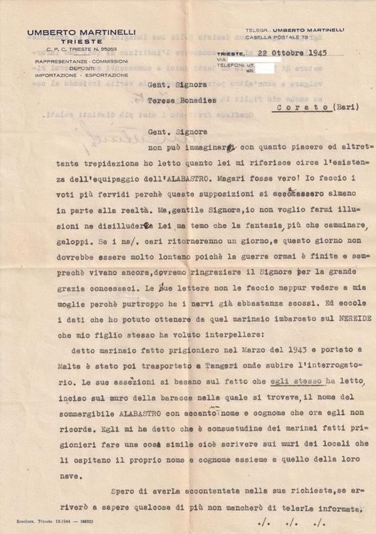 1945-10-22 Risposta Famiglia Martinelli Fronte.jpg