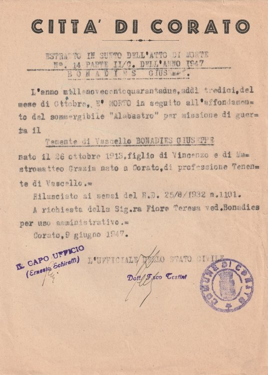 1947-06-09 Atto Di Morte Corato Fronte.jpg