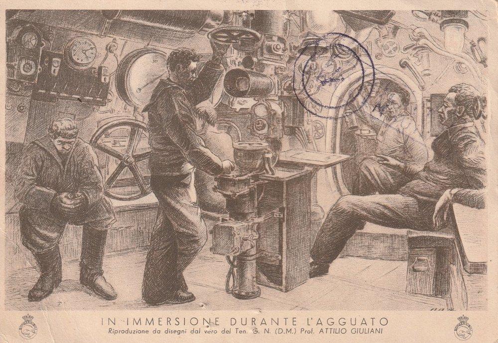 Cartolina Da Sommergibile Alabastro 13-09-42 02 Fronte.jpg