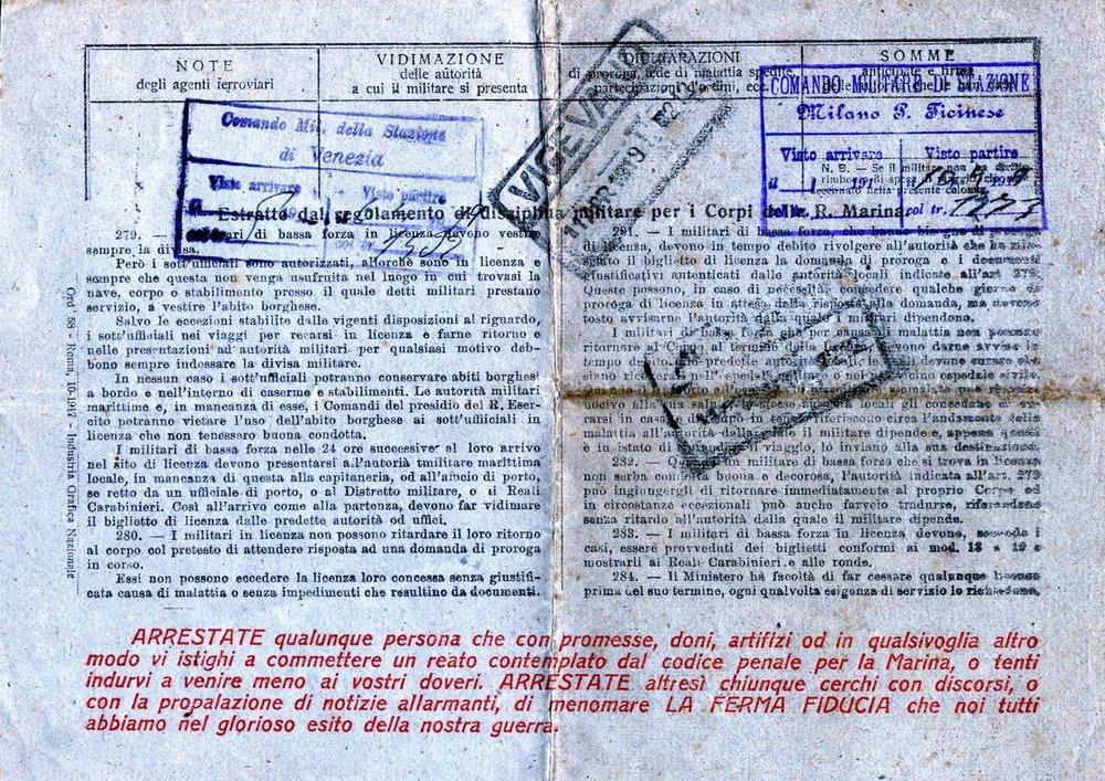 Argonauta biglietto di licenza retro.jpg